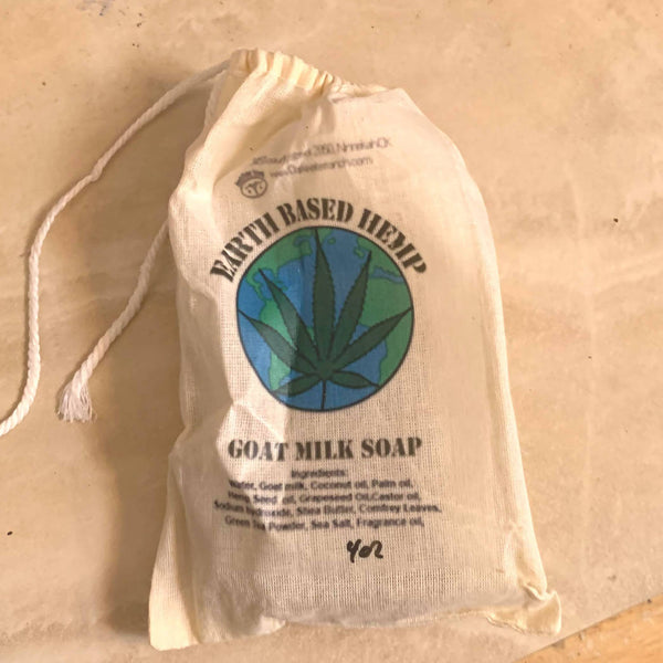 Earth Based Hemp Goat Milk Soap
