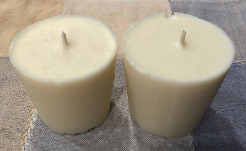 Handmade Soy with Beeswax 2 Candle Refills