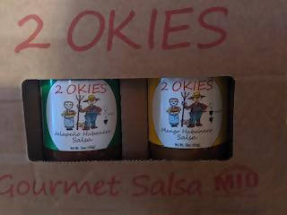 2OKIES Salsa Gift Box Shipping included in price