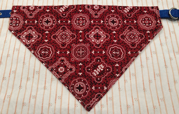 Handmade Cotton Large/XL Pet Bandana