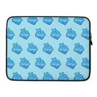 Blue Georgia Peach Laptop Sleeve