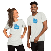 Blue Georgia Peach T-Shirt
