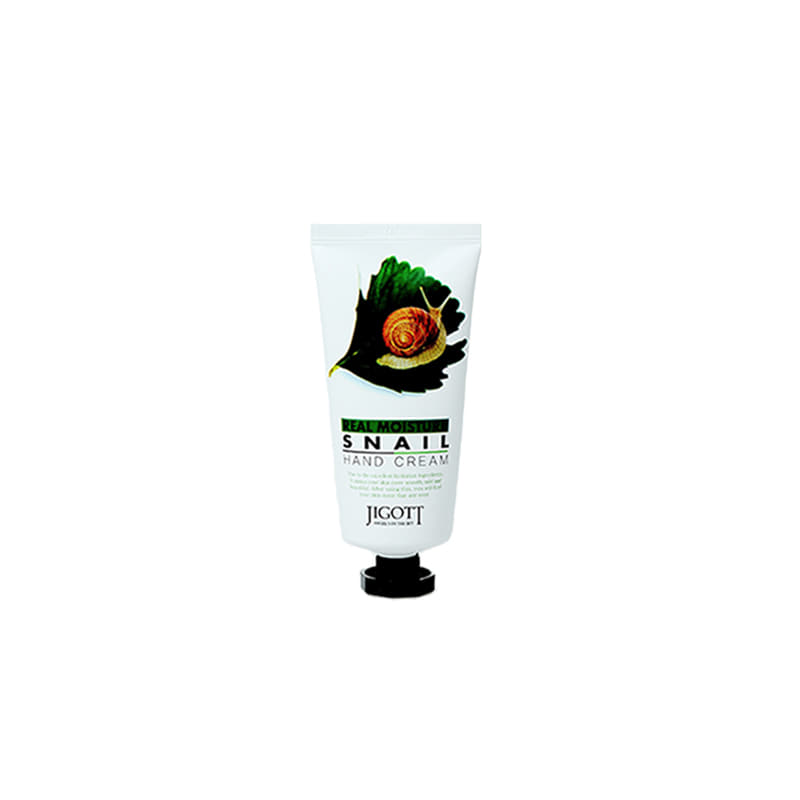 JIGOTT Real Moisture Snail Hand Cream 100ml