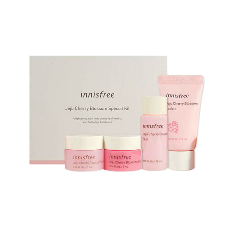 INNISFREE Jeju Cherry Blossom Special Kit (4 Items)