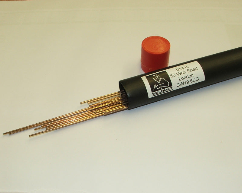 Kg Nickel 9% bronze 1.6mm TIG/gas brazing wire (Sifbronze No.2)