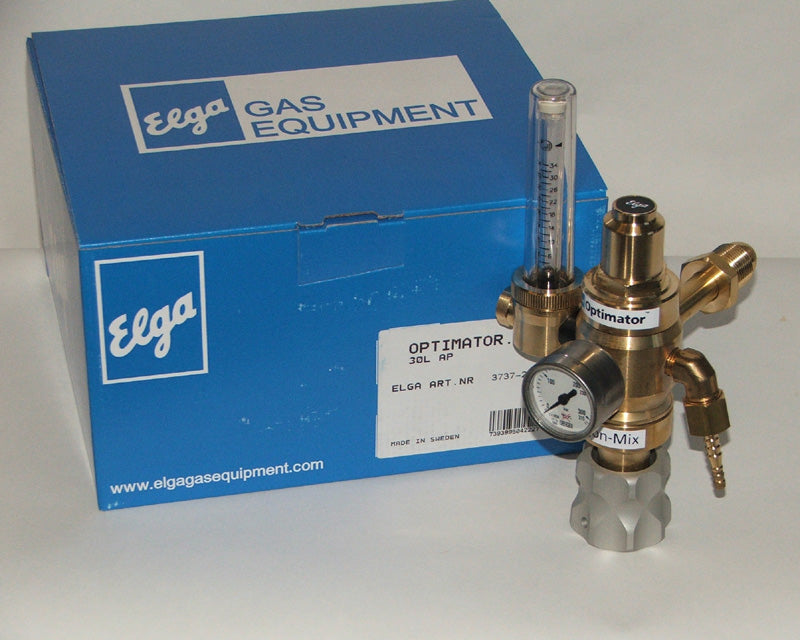 Elga Optimator gas saver lockable type Air Products type rear fitting