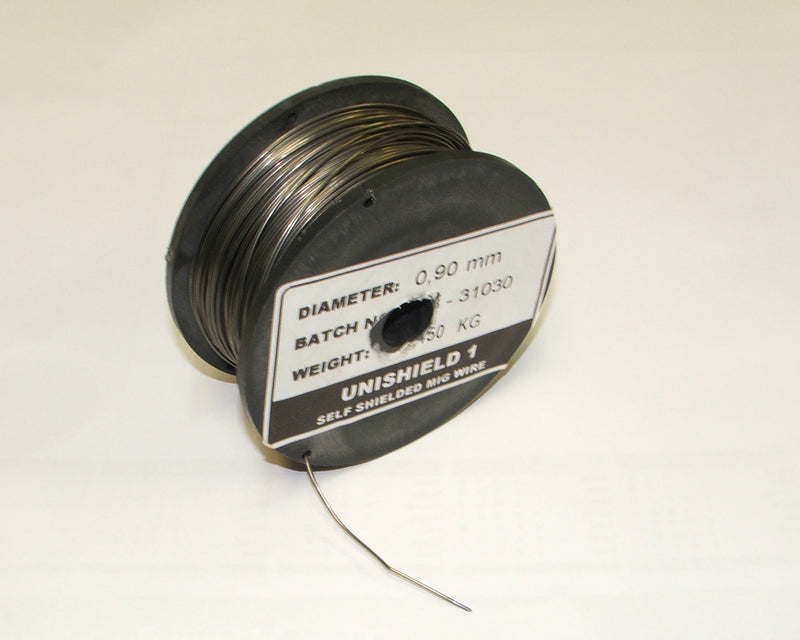Mini reel gasless 0.8mm MIG welding wire (0.45 kgs)