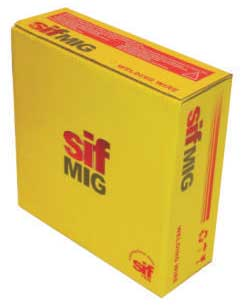 Reel MIG welding wire 1.2mm Cu-Si3 C9 copper silicon (12.5Kg)