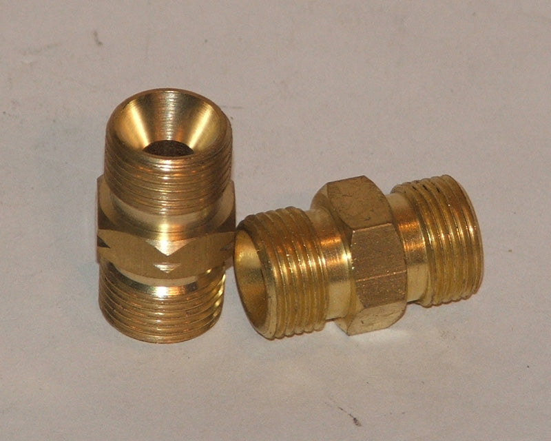 Hose coupler equal 6mm right hand (1/4)