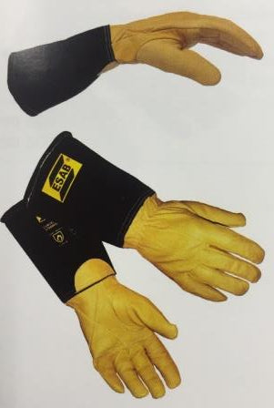 Welders gauntlet glove ESAB TIG curved Large 0700005041