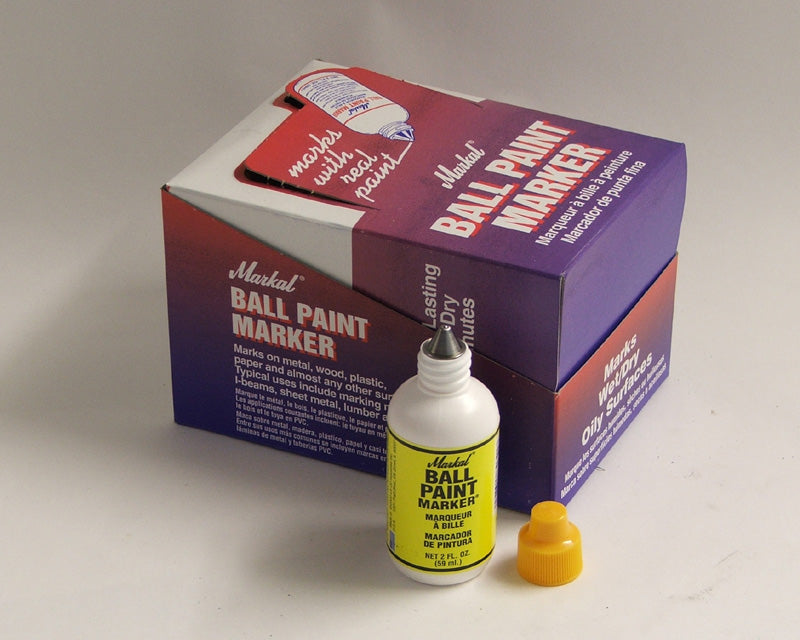 84621 Ball paint marker colour yellow