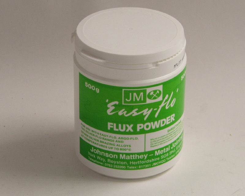 Tub Flux Johnson Matthey Easy-flo powder 500grm