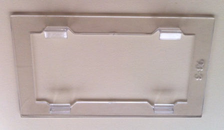 Magnification plate adaptor 108 x 51mm (4x2) Actual size 118 x 67mm