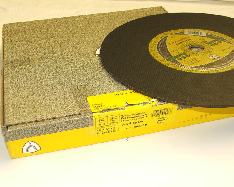 Stone cutting disc 300 x 3.5 x 20mm flat Klingspor C24 288223