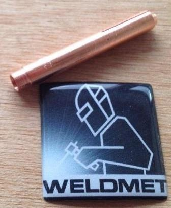 Weldcraft style 13N24L large diameter gas lens version collet 3.2mm (WP9/20)