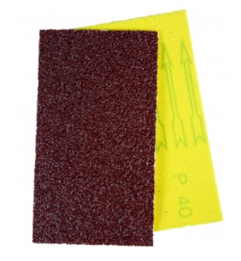 Hand file strips 190 x 30mm 220 grit (pkt 25)