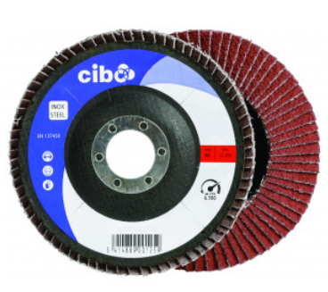 Cibo 115mm flap wheel ceramic P40 grit FTC/40/115