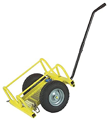 Sumner Cricket pipe holder/trolley with flat free tyres