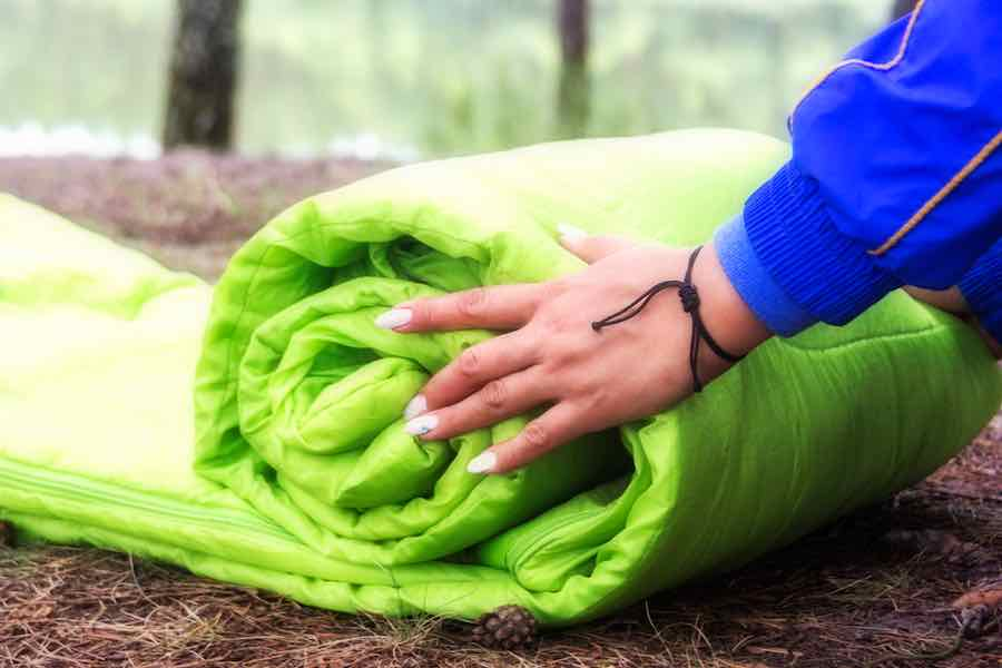 How to Store A Sleeping Bag - Rolling A Sleeping Bag