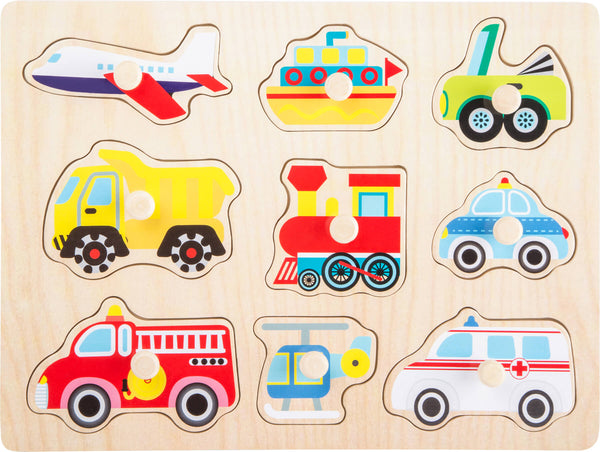 "small foot - Puzzle ""Vehicles"""