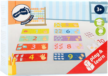 small foot - Counting Learning Puzzle