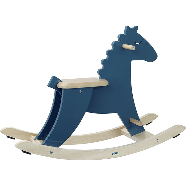 VILAC - Dark Blue Rocking Horse