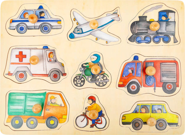 small foot - City Vehicles Puzzle