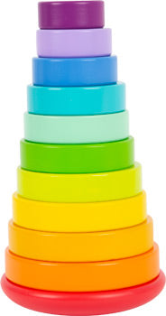 small foot - Stacking Tower, Large Rainbow