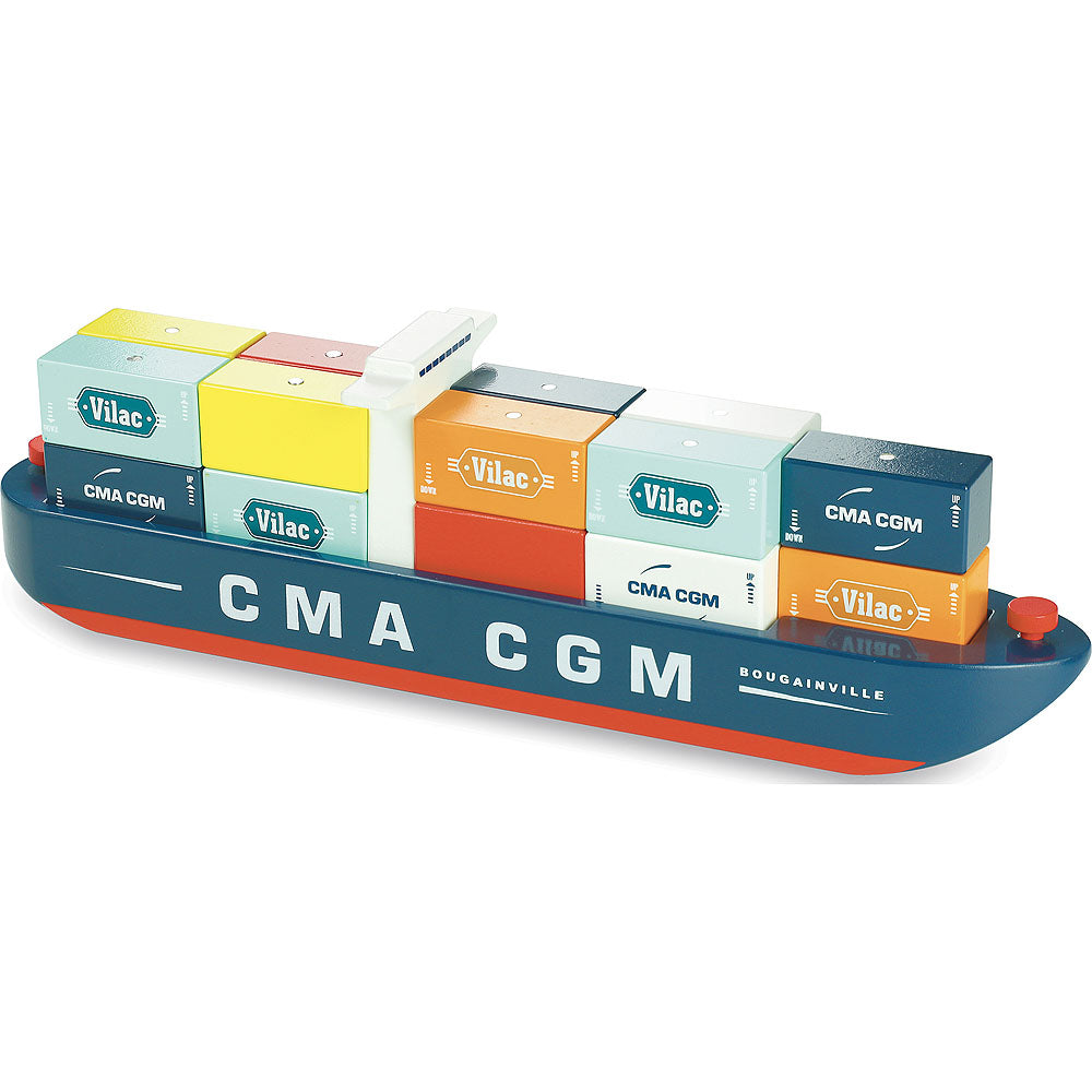 VILAC - Vilacity Container Ship with Magnetic Blocks