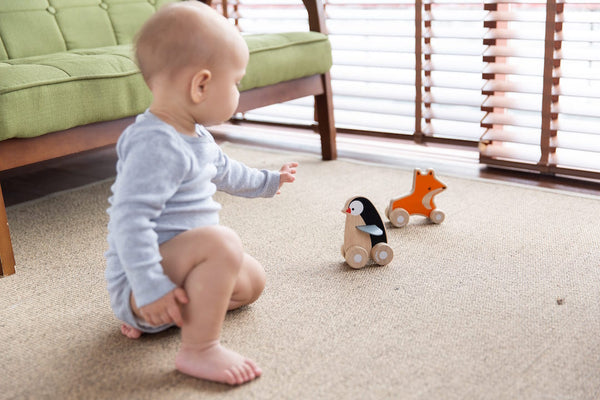 PlanToys - Penguin Wheelie