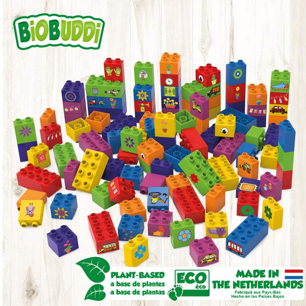BiOBUDDi - Learning to Build - 100pcs