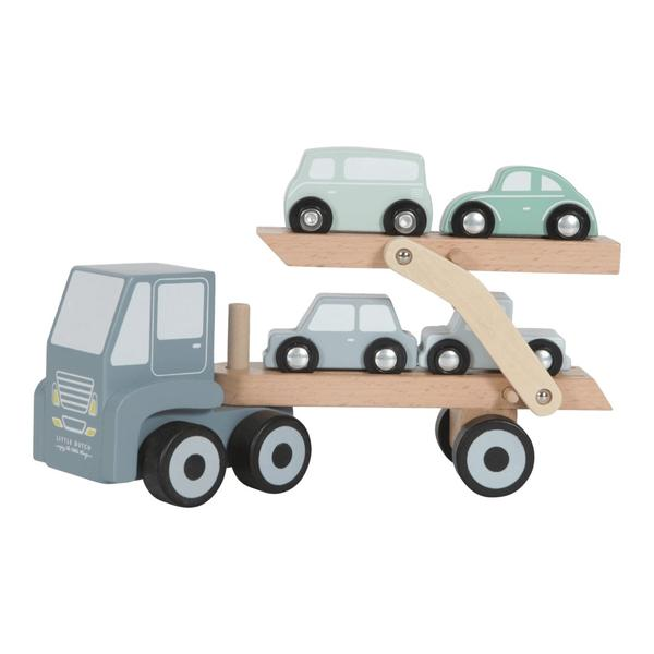 LITTLE DUTCH - Wooden Transporter