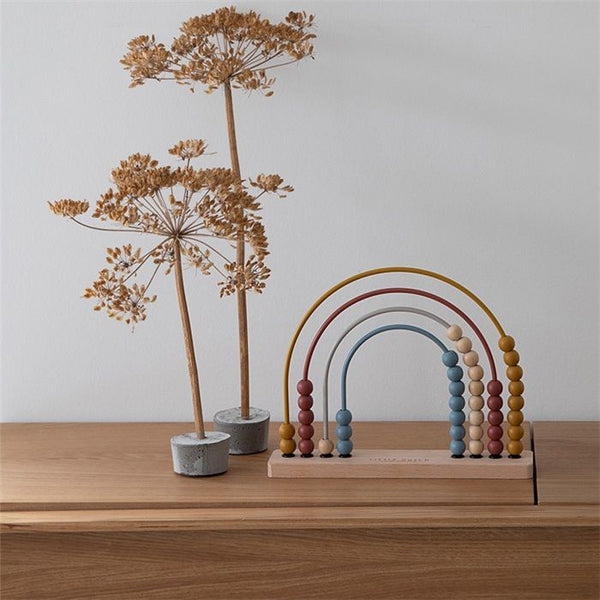 LITTLE DUTCH - Rainbow Abacus Pure & Nature