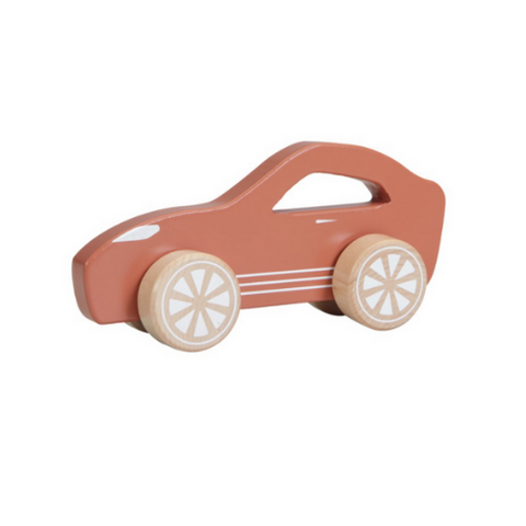 LITTLE DUTCH - Wooden Toys Sports Car Rust