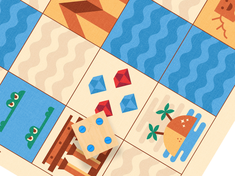 CUBETTO Ancient Egypt Adventure Map