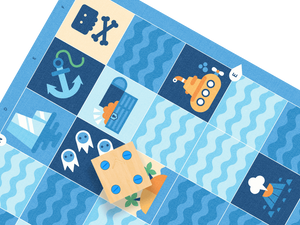 CUBETTO Blue Ocean Adventure Map