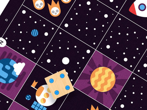CUBETTO Deep Space Adventure Map