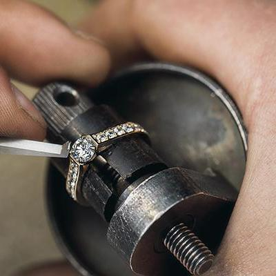 Jewelry Inspection and Cleaning