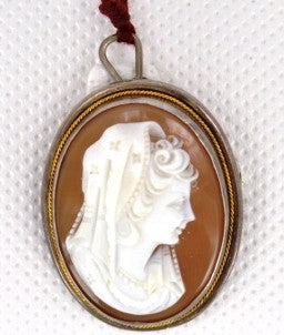 Brooche Vintage Cameo Brooch from welch and company jewelers near syracuse ny