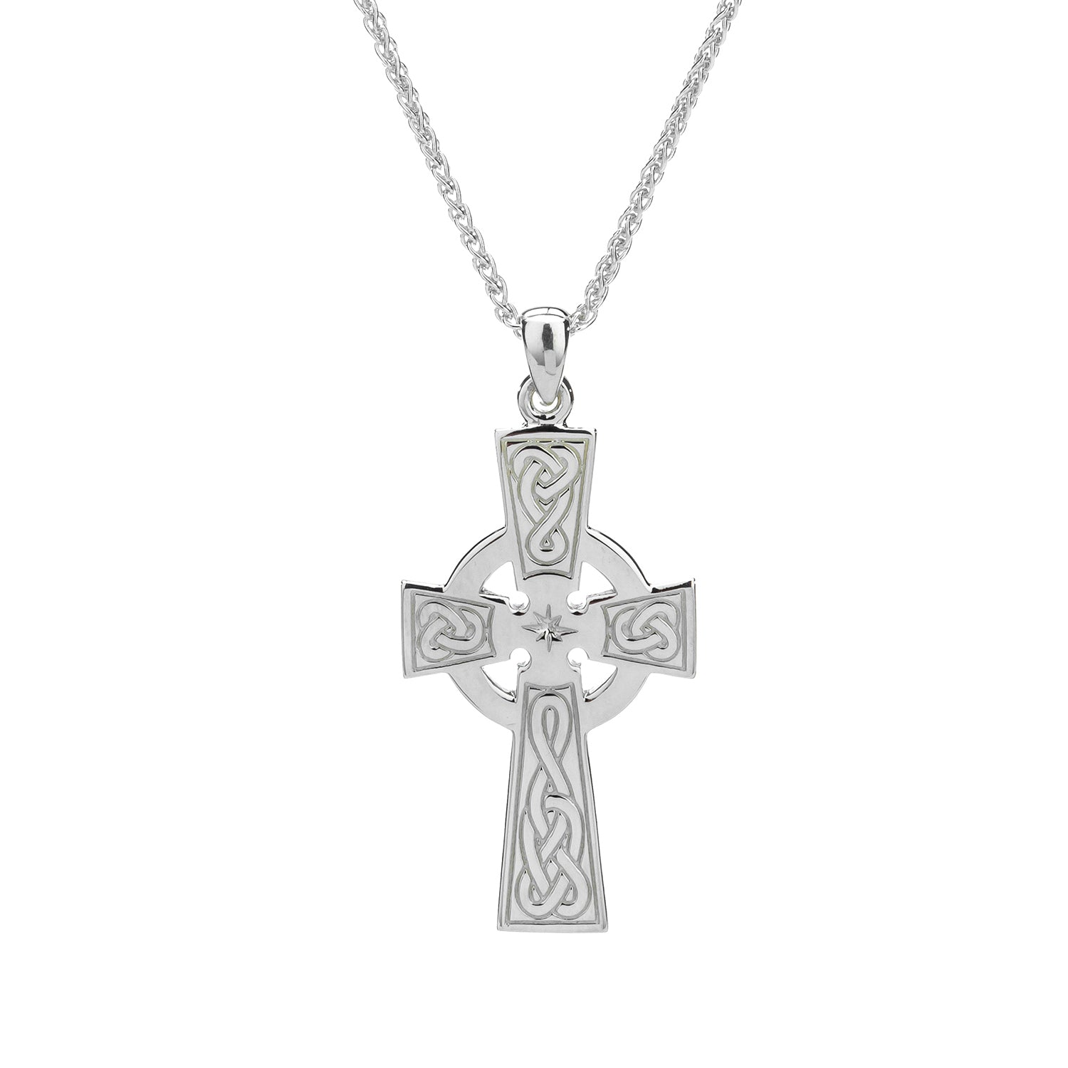 Pendant Celtic Cross Large Pendant from welch and company jewelers near syracuse ny