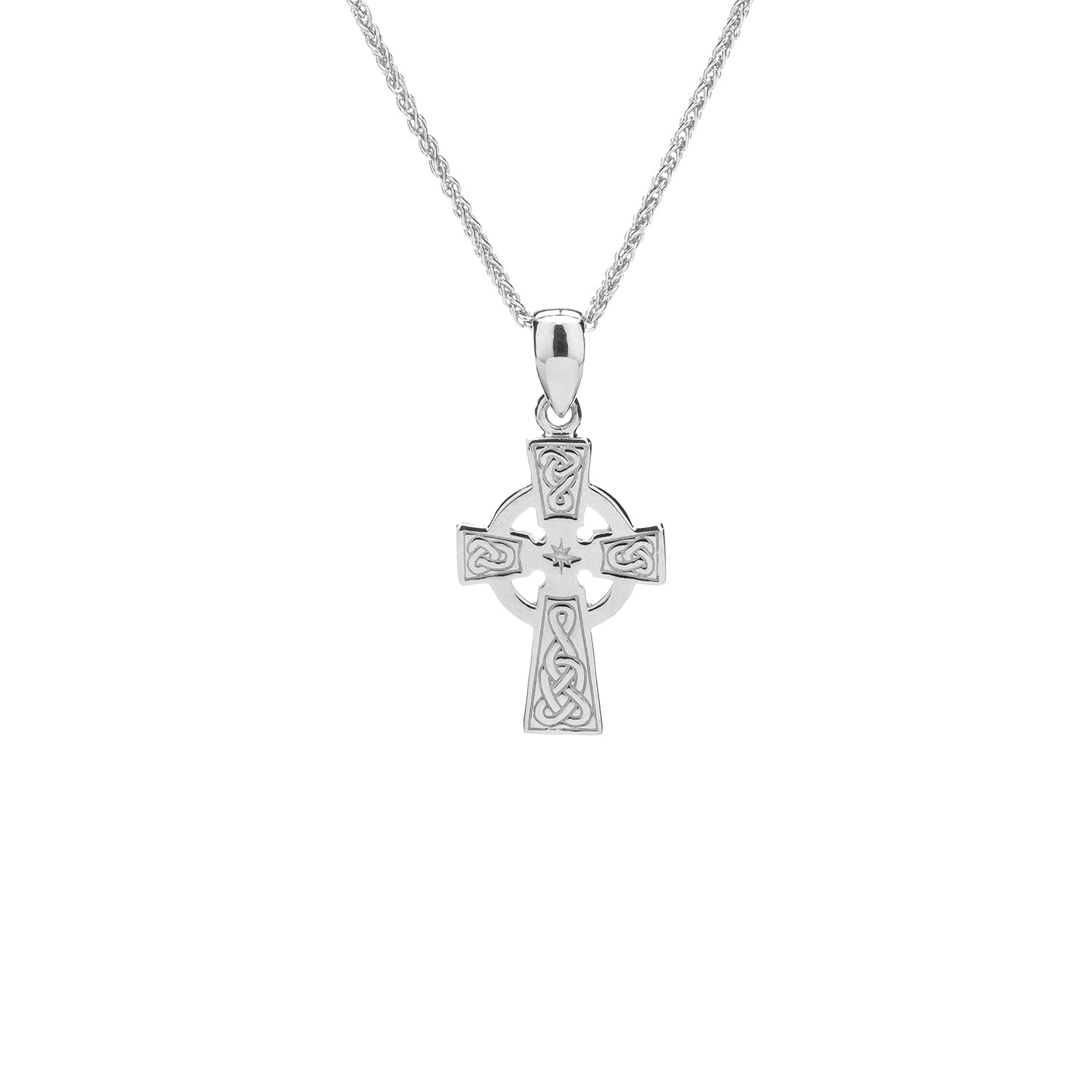 Pendant Celtic Cross Small Pendant from welch and company jewelers near syracuse ny