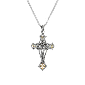 Pendant 10k CZ Cross Pendant from welch and company jewelers near syracuse ny