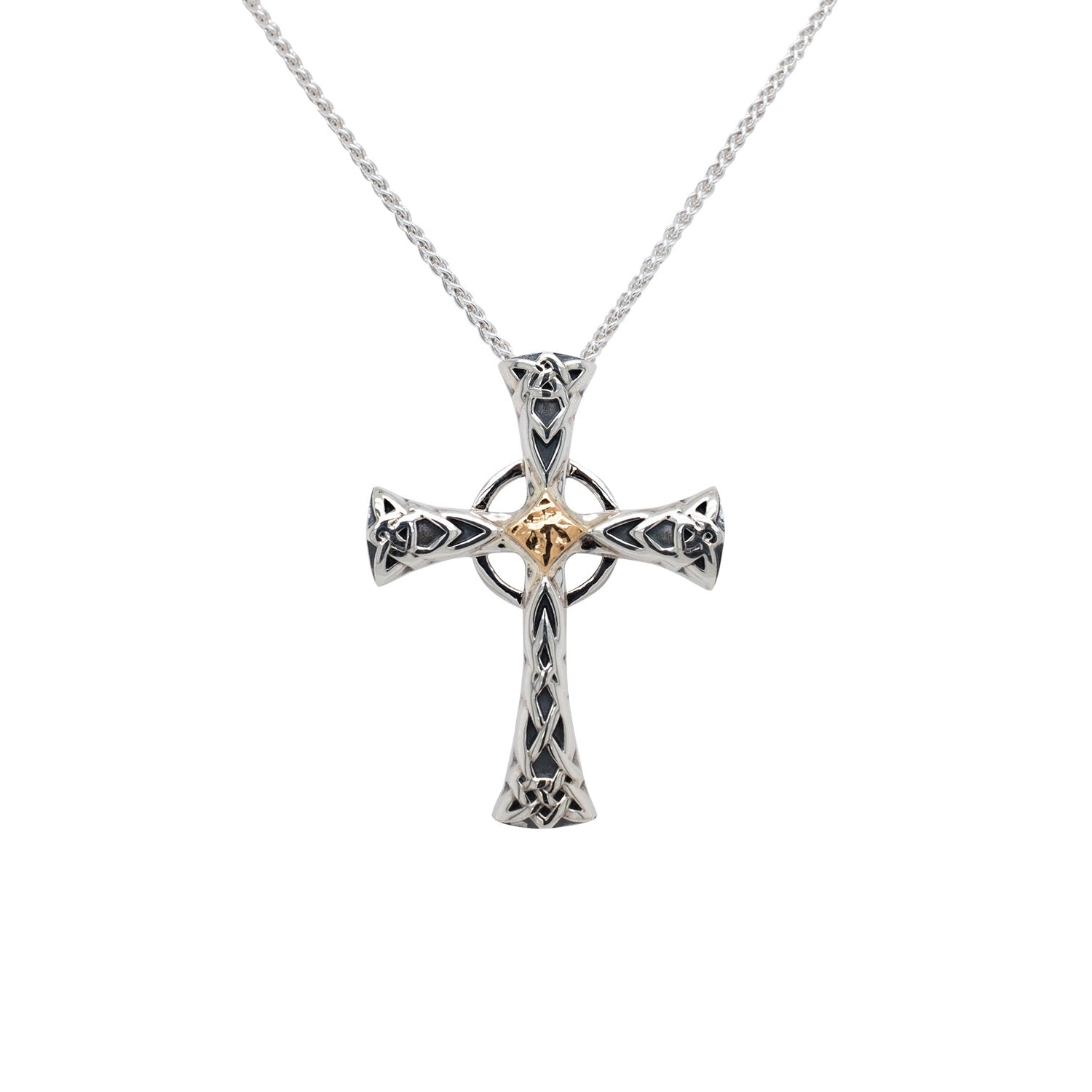 Pendant 10k Celtic Cross Small Pendant from welch and company jewelers near syracuse ny