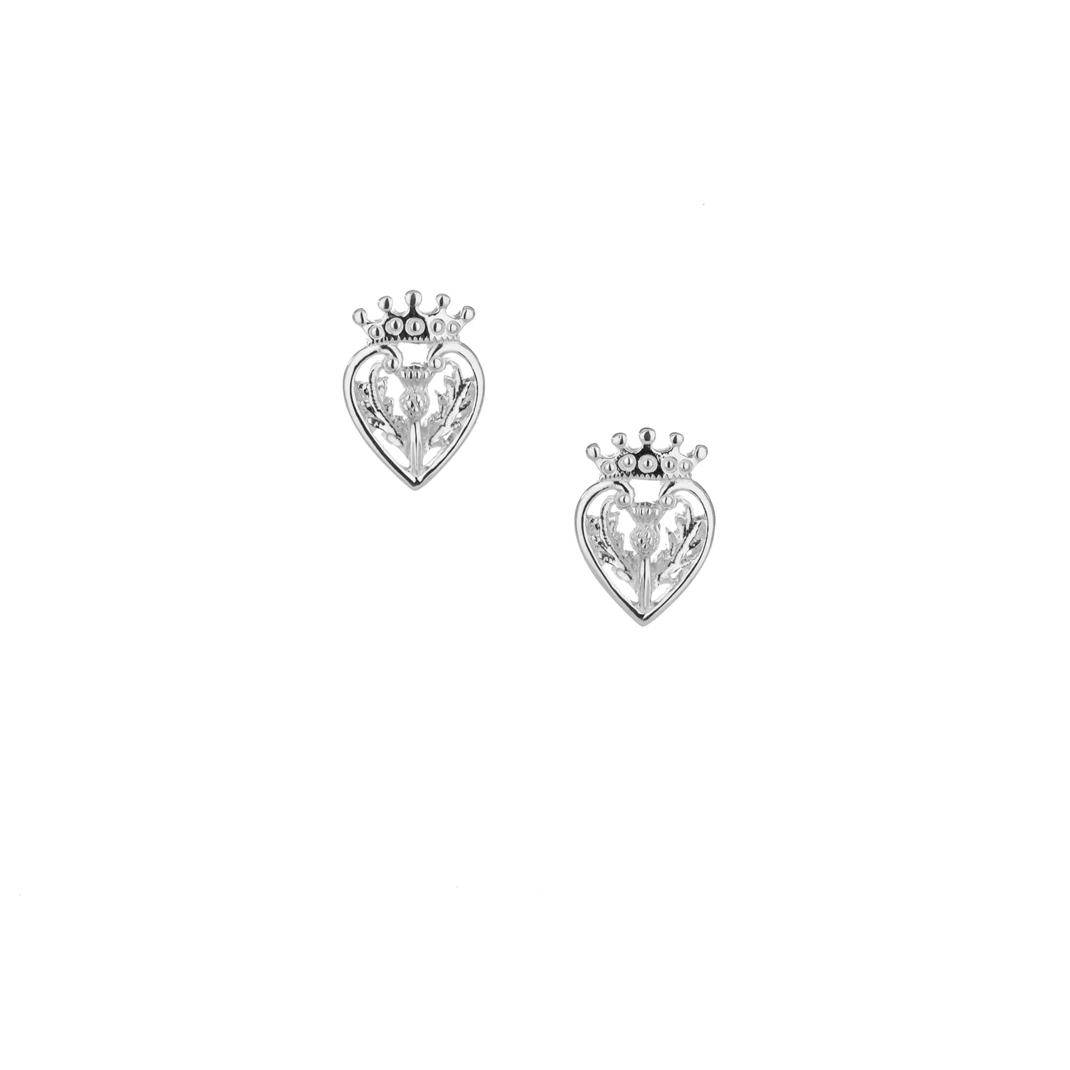 Earrings Luckenbooth Post Earrings from welch and company jewelers near syracuse ny