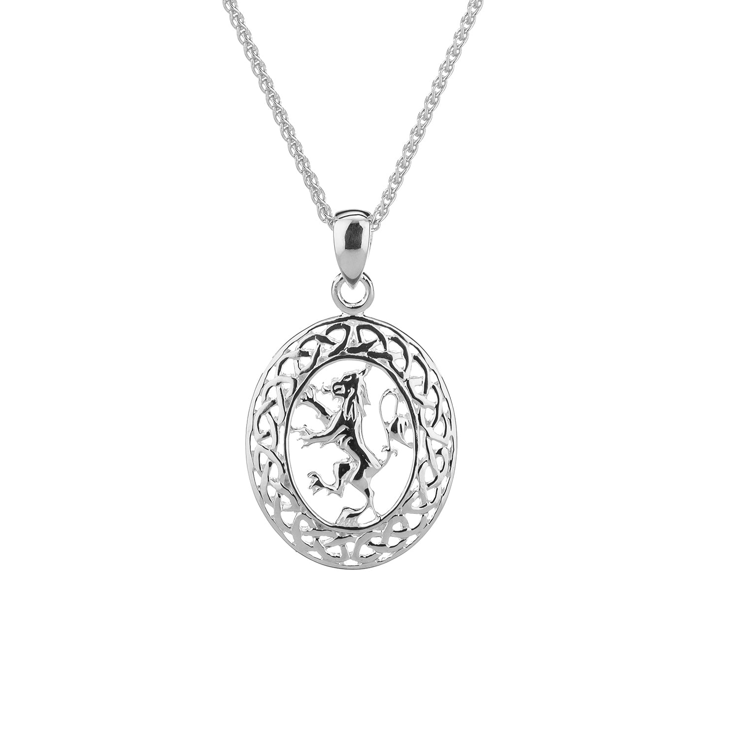 Pendant Lion Rampant Pendant Oval from welch and company jewelers near syracuse ny