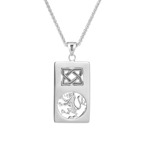 Pendant Lion Rampant Rectangle Pendant from welch and company jewelers near syracuse ny