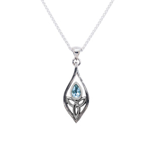 Pendant Angel Blue Topaz Pendant Small from welch and company jewelers near syracuse ny