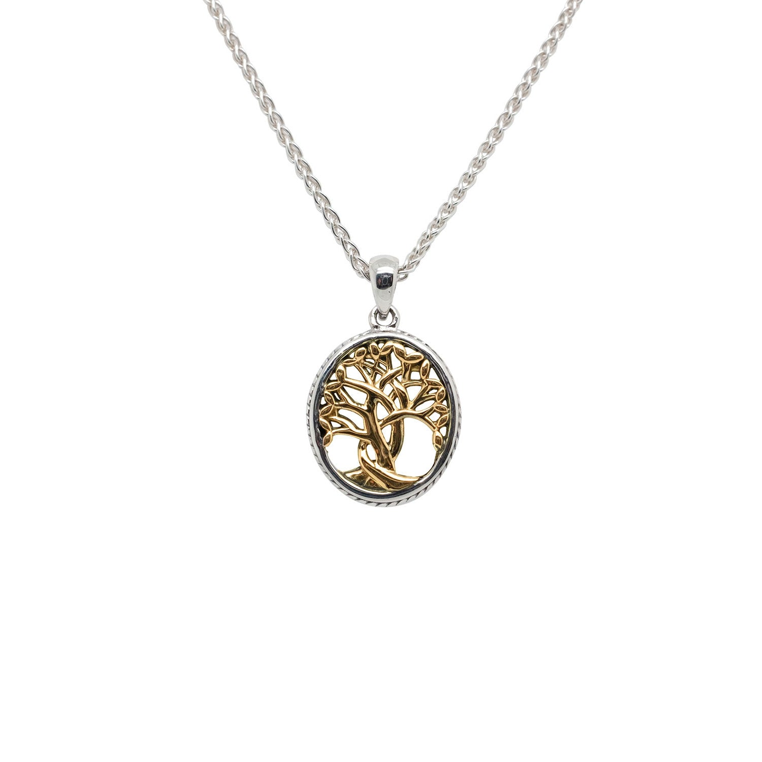 Pendant 10k Yellow Tree of Life Pendant Petite from welch and company jewelers near syracuse ny