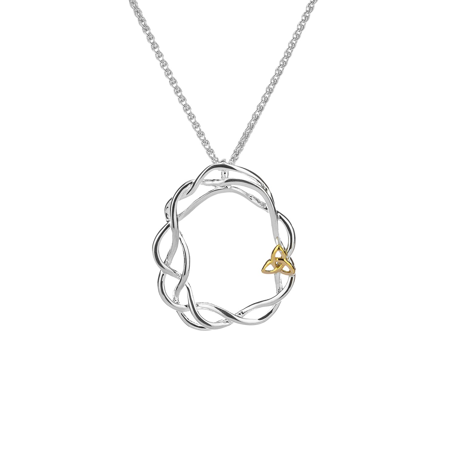 Pendant 10k Infinity Knot Pendant from welch and company jewelers near syracuse ny