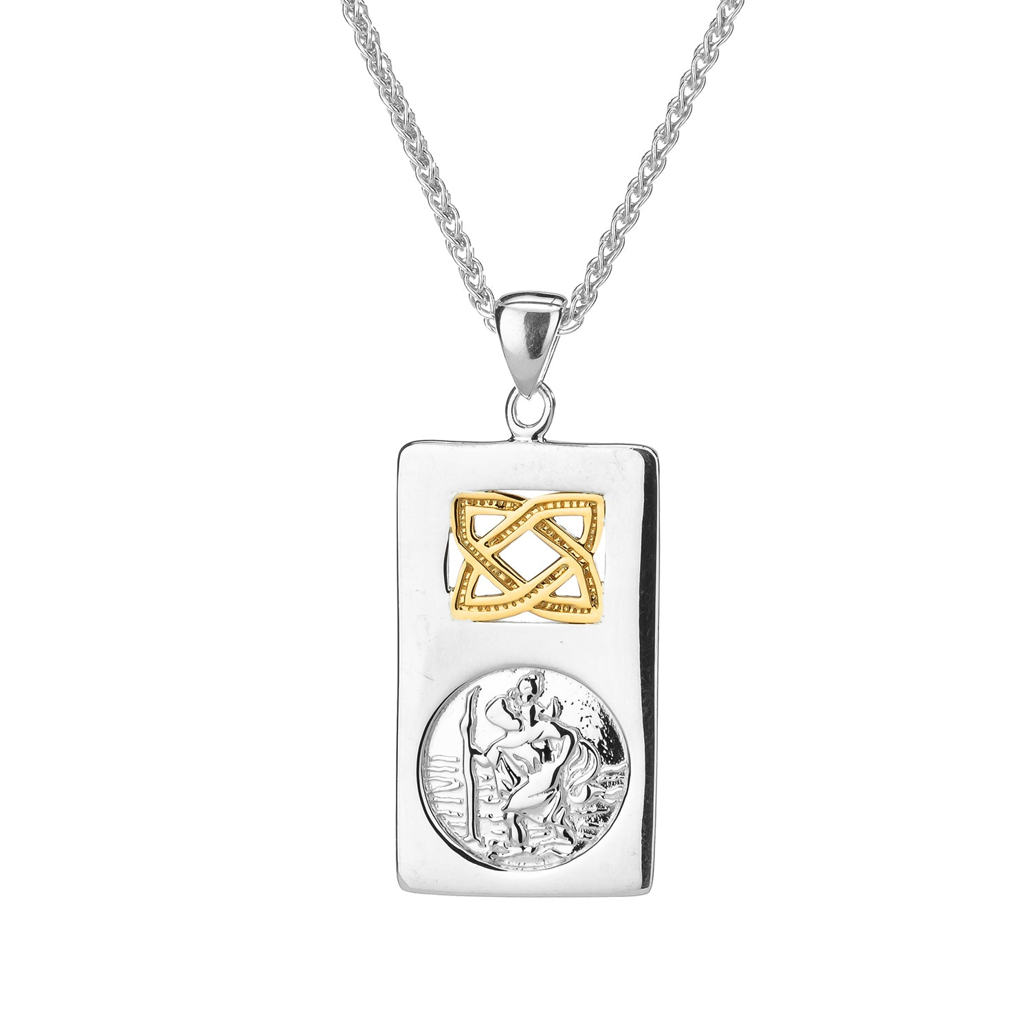Pendant 10k St. Christopher Pendant from welch and company jewelers near syracuse ny